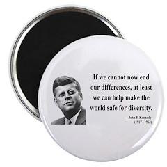 John F. Kennedy 4 Magnet