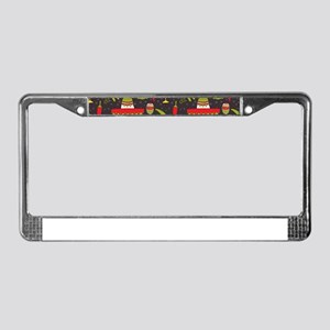 cinco de mayo License Plate Frame