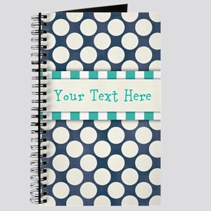 Personalized - Blue Patterned* Journal