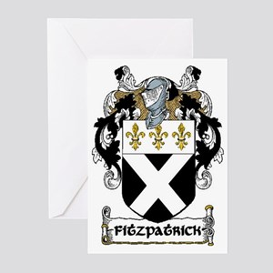 Fitzpatrick Coat of Arms Greeting Cards (Pk of 20)