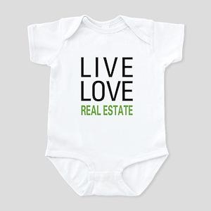 Live Love Real Estate Infant Bodysuit