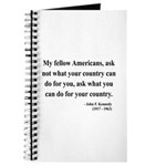 John F. Kennedy 5 Journal