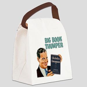 Big Book Thumper Canvas Lunch Bag
