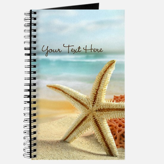 Personalized - Beach Starfish* Journal