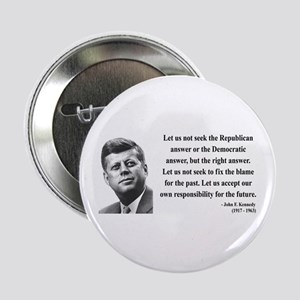 "John F. Kennedy 6 2.25"" Button"