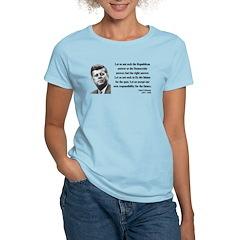 John F. Kennedy 6 Women's Light T-Shirt