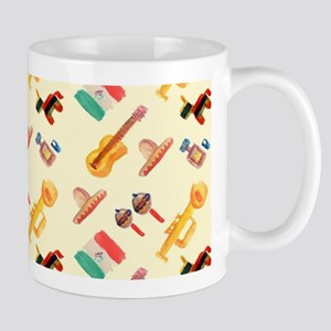mexican watercolor Mugs