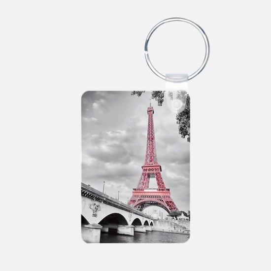 Pink Eiffel Tower Keychains