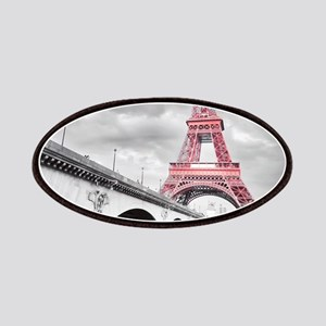 Pink Eiffel Tower Patch