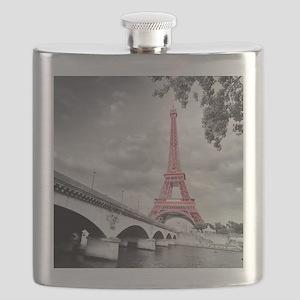 Pink Eiffel Tower Flask