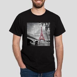 Pink Eiffel Tower T-Shirt