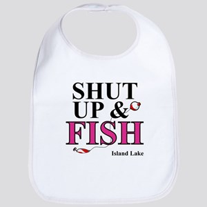 Shut Up & Fish Bib