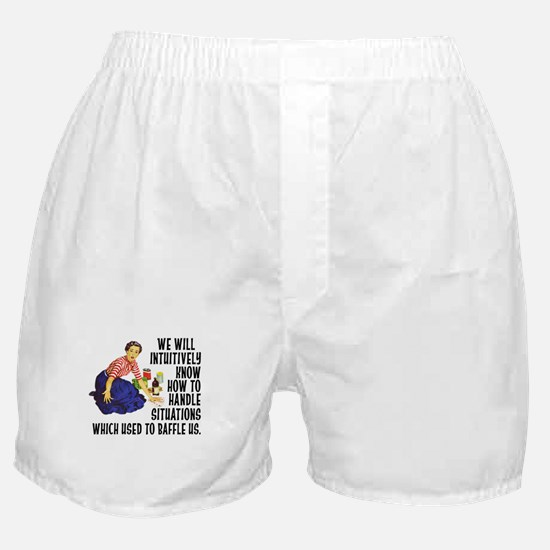 We Will Intuitively Know... Boxer Shorts