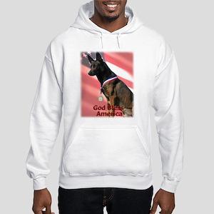 Proud Malinois Hooded Sweatshirt