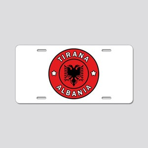 Tirana Albania Aluminum License Plate