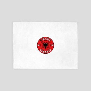 Tirana Albania 5'x7'Area Rug
