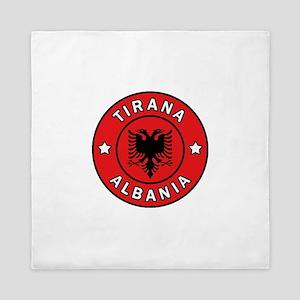 Tirana Albania Queen Duvet