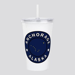 Anchorage Alaska Acrylic Double-wall Tumbler