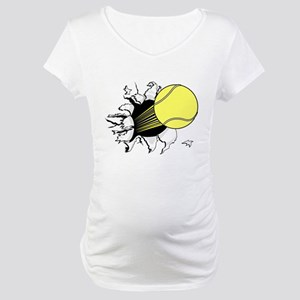 Breakthrough Tennis Maternity T-Shirt