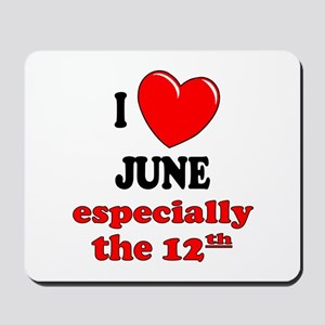 June 12th Mousepad
