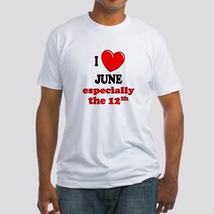 June 12th Fitted T-Shirt