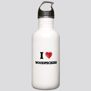 I love Woodpeckers Stainless Water Bottle 1.0L