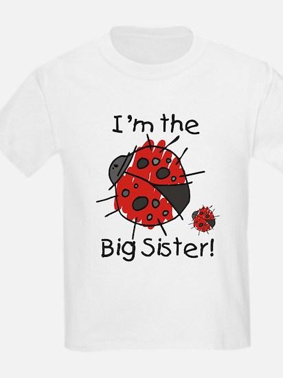 I'm the Big Sister Ladybug T-Shirt
