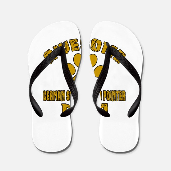 Awesome German Shorthaired Pointer Mom Flip Flops
