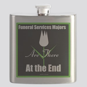Funeral Services Majors are There at the End Flask