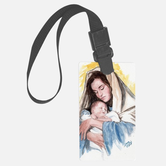 Funny Mary Luggage Tag