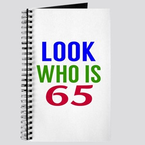 Look Who Is 65 Journal