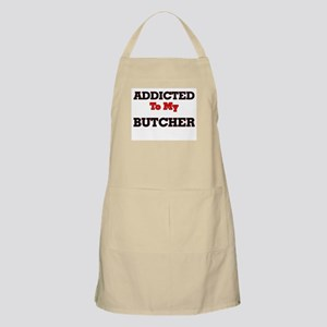 Addicted to my Butcher Apron