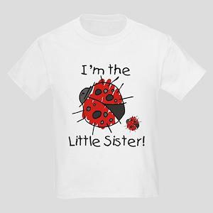 Little Sister Ladybug Kids Light T-Shirt