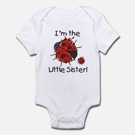 Little Sister Ladybug Infant Bodysuit