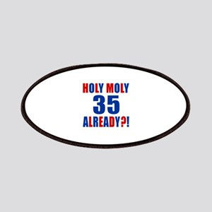 35 Holy Moly Birthday Designs Patch