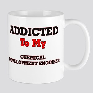 Addicted to my Chemical Development Engineer Mugs