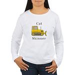 Cat Skinner Women's Long Sleeve T-Shirt