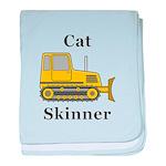 Cat Skinner baby blanket