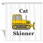 Cat Skinner Shower Curtain