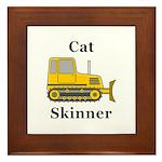 Cat Skinner Framed Tile