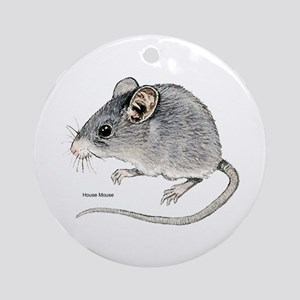Mouse Rodent Ornament (Round)