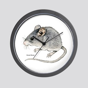 Mouse Rodent Wall Clock