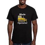 Blade Operator Men's Fitted T-Shirt (dark)