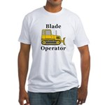 Blade Operator Fitted T-Shirt