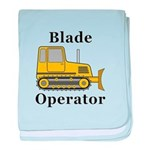 Blade Operator baby blanket