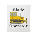 Blade Operator Throw Blanket