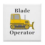 Blade Operator Tile Coaster