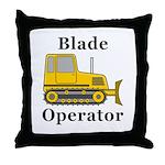 Blade Operator Throw Pillow
