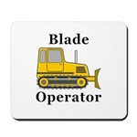 Blade Operator Mousepad