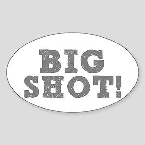 BIG SHOT! Sticker